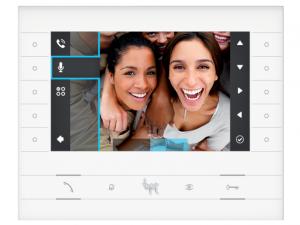 Postes internes vidéo - FUTURA Poste interne vidéo couleur mains libres 7